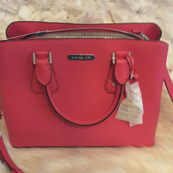 af75afdb27d2 Michael kors Bags   Camille Leather Md Satchel Ultra Pink   Poshmark